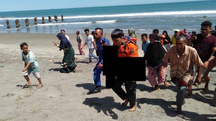 Breaking News: Dua Remaja Dilaporkan Hanyut Terseret Ombak di Pantai Purus Padang