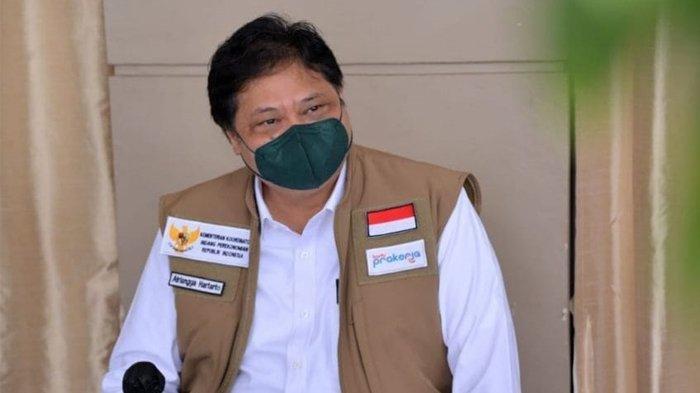 Pandemi Mulai Terkendali, Airlangga Hartarto: Tingkat Penularan Covid-19 di Indonesia Rendah