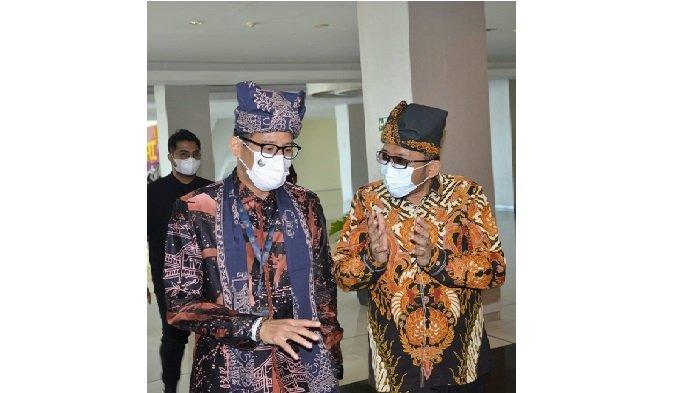 Menparekraf Sandiaga Uno Dukung Penuh Pembangunan Youth Centre di Padang