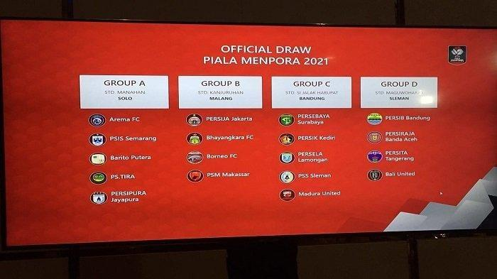 Persib Vs Persebaya - Duel Klasik di Perempat Final Piala Menpora 2021, Berikut Jadwal Lengkap
