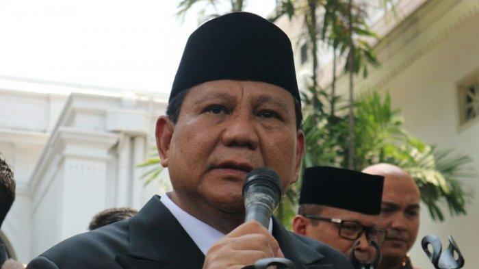 Setelah Dilantik JadiMenteri PertahananJokowi, Prabowo Bahas AnggaranhinggaAlutsista