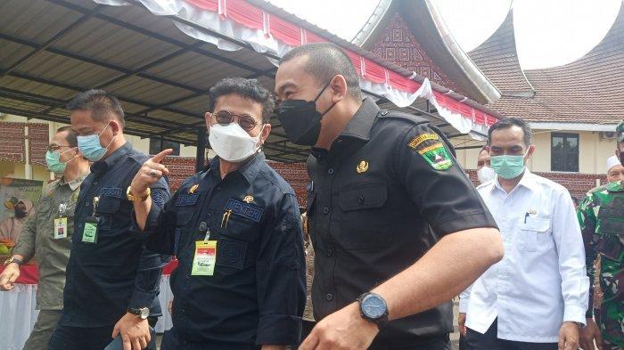 Kunjungi Balitbu Solok, Menteri Pertanian Syahrul Yasin Limpo Ingatkan Jangan Berhenti di Budidaya