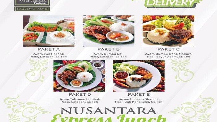 Daftar menu di Puncak Singgalang Sky Lounge and Restaurant