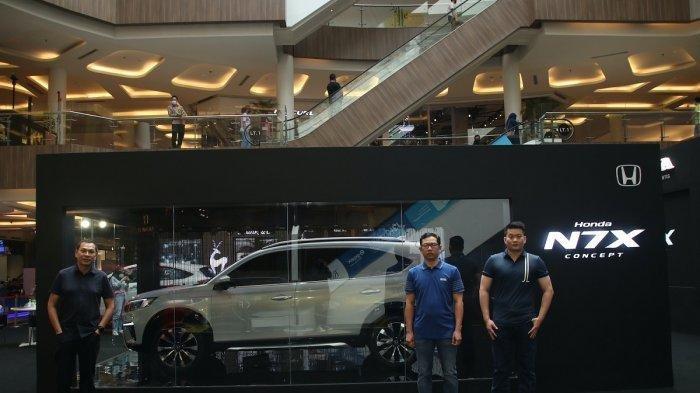 Roadshow Mobil Konsep Honda N7X, Dimulai Kota Bandung, Semarang, Surabaya, dan Makassar