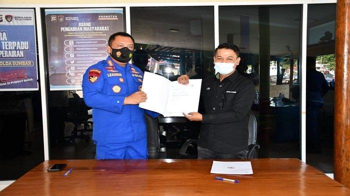 Semen Padang Serah Terimakan, Kantor Subdit Gakkum Ditpolairud Polda Sumbar