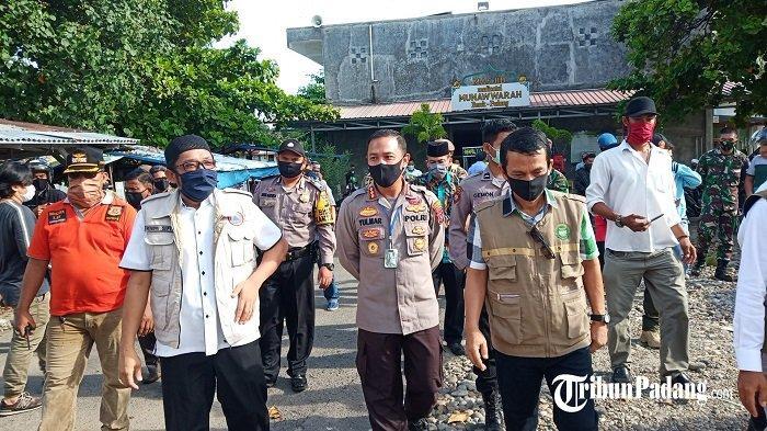 Wawako Padang Bersama Unsur Forkopimko Turun ke Lapangan, Diskusi dengan Pengurus Masjid