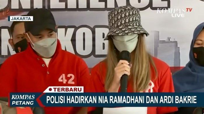 Nia Ramadhani dan Ardi Bakrie Akan Jalani Rehabilitasi, Polisi Bantah Beri Perlakuan Khusus