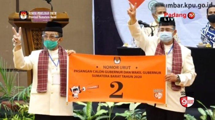 Pasangan Nasrul Abit - Indra Catri Baru Gelar Silaturahmi Terbatas, Optimalkan Kampanye Media Sosial