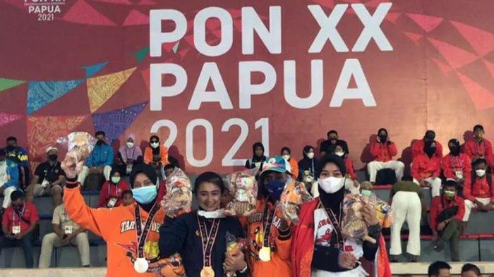 Nur Rahimah Tambah Koleksi Medali Sumbar di PON Papua 2021, Raih Perunggu Tarung Derajat