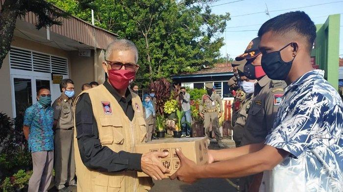 Personel Satpol PP Padang Dapat Tambahan Nutrisi, Wali Kota Mahyeldi: Saya Tahu Tugas Kalian Berat