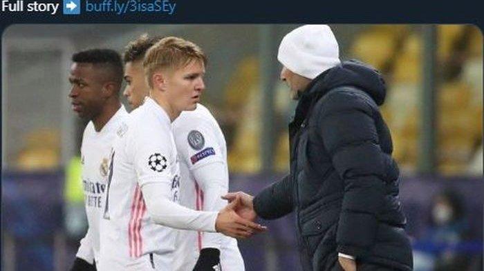 Arsenal Dapatkan Martin Odegaard dari Real Madrid, Padahal Zidane Telah Janjikan Satu TempatLine-up