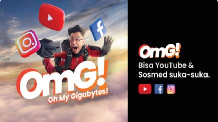 Masih Ada, Paket Internet OMG Hingga 52 GB dari Telkomsel, Harga Mulai Rp 95 Ribu