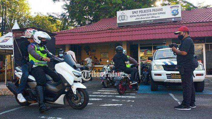 Razia Operasi Patuh Hari Pertama, Polresta Padang Sasar Pelanggaran Kasat Mata Berpotensi Sebab Laka
