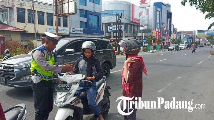 Selama Operasi Zebra Singgalang 2019, Polresta Padang Tilang 4.082 Pelanggar, 305 Kendaraan Disita