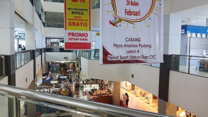 Terkait PSBB Sumbar, Penutupan Plaza Andalas Tunggu Instruksi Pemko Padang