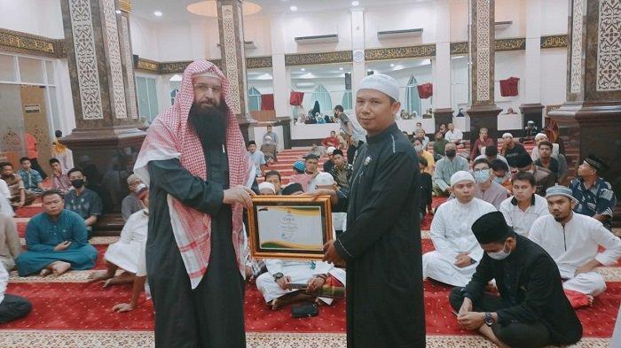Tabligh Akbar Internasional Masjid Mujahidin Kota Padang, Himpun Rp 260 Juta Untuk Muslim Palestina