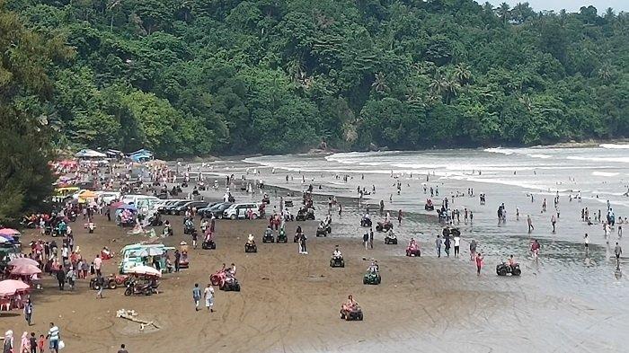 Mulai Besok Masuk Objek Wisata Pantai Air Manis dan Gunung Padang Gunakan E-Money Brizzi
