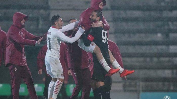 AC Milan Aman di Puncak Klasemen Sementara, Meski Juventus, Napoli dan Lazio Kompak Menang