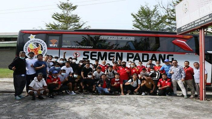 Sebanyak 27 Pemain Semen Padang FC sudah Berada di Palembang Jalani Fase Grup Liga 2
