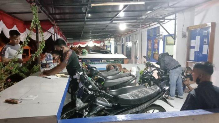 Polisi Bubarkan Aksi Balap Liar di Kota Pariaman, Remaja Kocar-kacir Lalu Sembunyikan Motor di Sawah