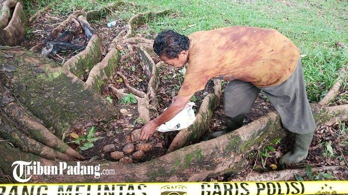 UPDATE Penemuan Granat di Padang: Polisi Pasang Garis Polisi dan Periksa Aliran Air Setempat