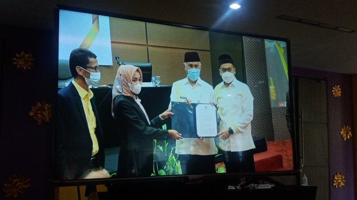 SAH . . . KPU Tetapkan Mahyeldi-Audy sebagai Gubernur dan Wakil Gubernur Sumatera Barat Terpilih