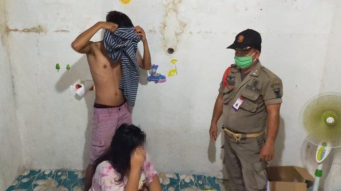 Razia Kos-kosan di Padang, 7 Pasangan Ilegal Diamankan Satpol PP, Ada yang Sedang Buka Baju