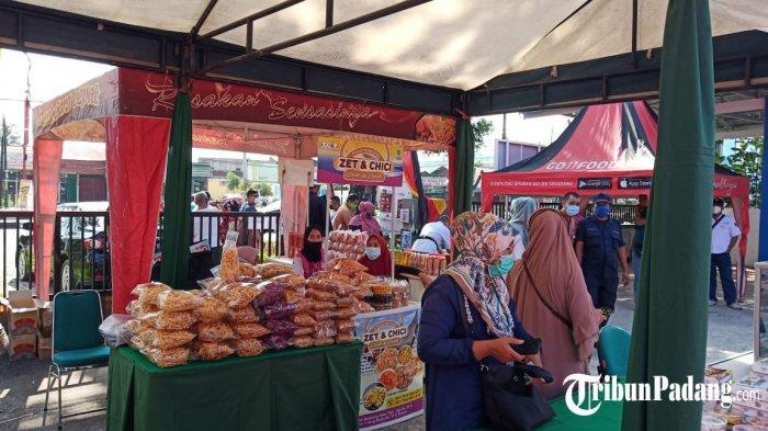 BURUAN Ada Pasar Murahdi Halaman Kantor Dinas Perdagangan Padang, Cek Harga Kue Kering Lebaran