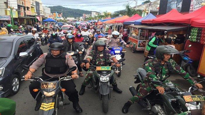 Polresta Padang dan Kodim 0312/Padang Lakukan Patroli ke Beberapa Titik Rawan