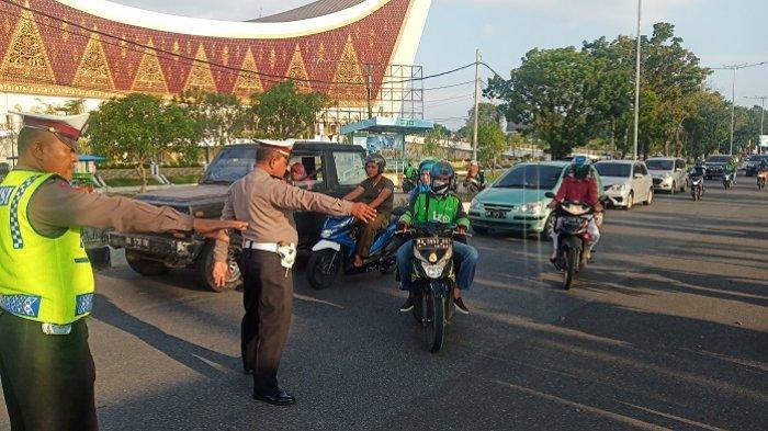 Selama Dua Pekan, Polisi Layangkan 3.111 Surat Tilang Pelanggaran Berlalu-lintas