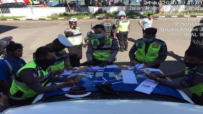 Operasi Patuh Singgalang 2020 di Padang, Polisi Prioritaskan Tindak 8 Pelanggaran