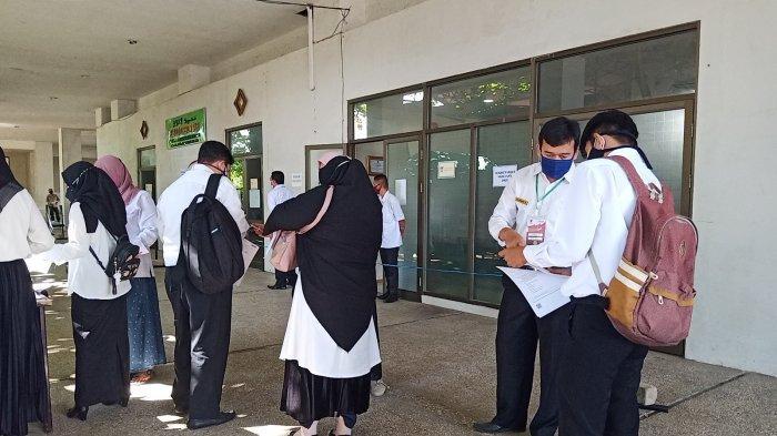 Hari Pertama Ujian SKD CPNS Padang, Satu Peserta Langsung Didiskualifikasi