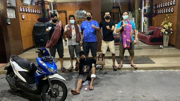 Pelaku Jambret Mahasiswi di Pasar Raya Padang Ditembak Polisi, Intan Dibuat Sampai Terjatuh