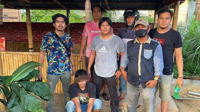 DPO Kupak Rumah di Kota Padang, Diamankan Polisi saat Duduk-duduk Santai