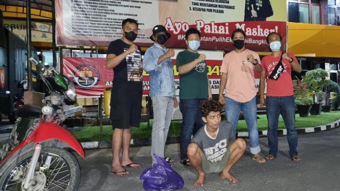 Pemuda di Padang Ini Pergi Maling Pakai Motor Curian, Ketahuan Warga, Ditangkap Polisi Akhirnya