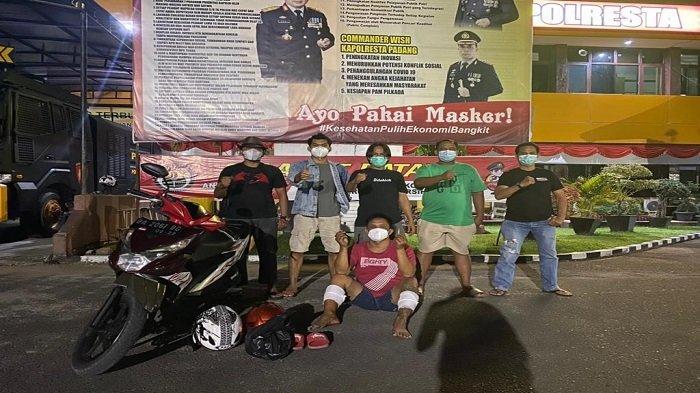 Pelaku Pencurian Sepada Motor Dihadiahi Timah Panas Oleh Tim Klewang Polresta Padang
