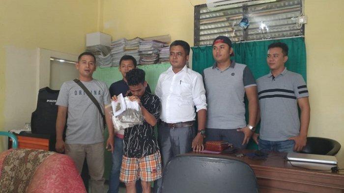 Terima Lemparan Ganja dari Luar Rutan, Narapidana di Padang Kembali Berurusan dengan Polisi