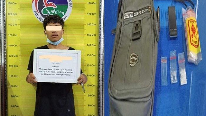 Pengedar Sabu Asal Payakumbuh Ditangkap di Tanah Datar, Hasil Pengembangan Kasus Sebelumnya