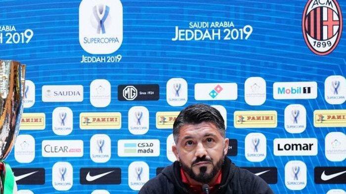AC Milan Gagal Meraih Kemenangan, Gennaro Gattuso: Ini Adalah Momen Kami Bermain Buruk
