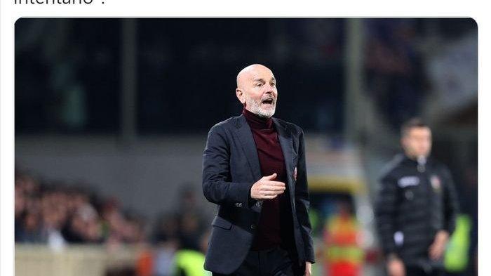 Pelatih AC Milan Minta Maaf, Apa Sebab Stefano Pioli Marah pada Asisten Pelatih Manchester United?