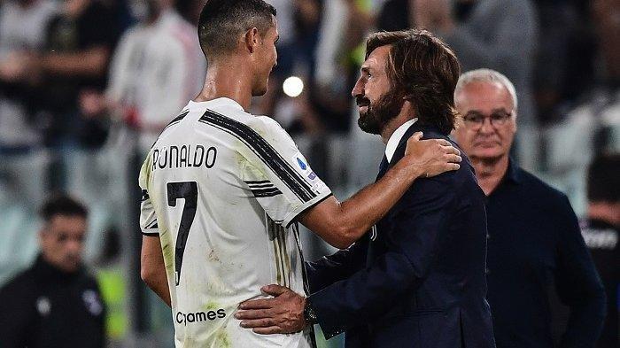 Pelatih Juventus Andrea Pirlo Buka Peluang Ronaldo Main Lawan Spezia, Tak Mungkin Starter