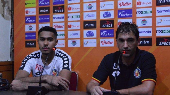 Pelatih Semen Padang Eduardo Almeida Sebut Laga Lawan Persela Luar Biasa Walau Harus Kalah 2-0