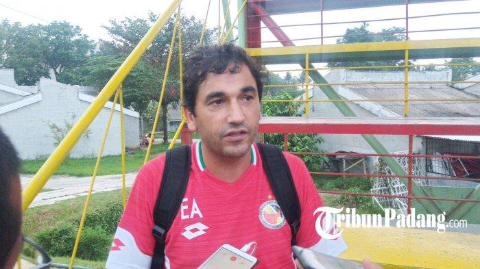 Semen Padang Bakal Kembali Pakai Jasa Pelatih Eduardo Almeida untuk Jalani Liga 2