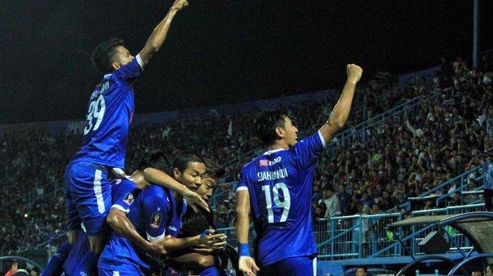 Arema FC Berhasil Taklukkan Kalteng Putra di Semifinal Piala Presiden 2019