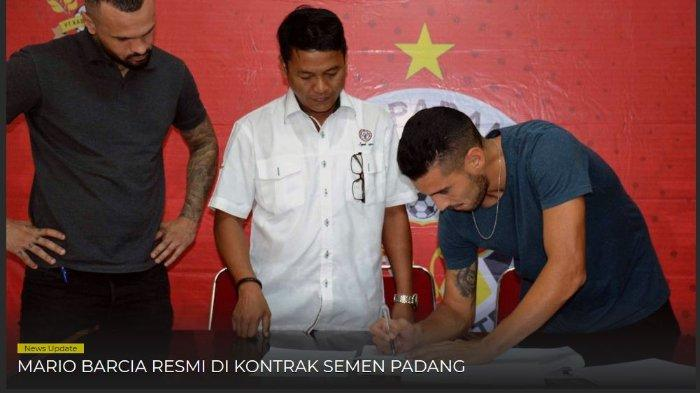 Semen Padang FC Resmi Datangkan Mantan Peraih Gelar Liga Champions