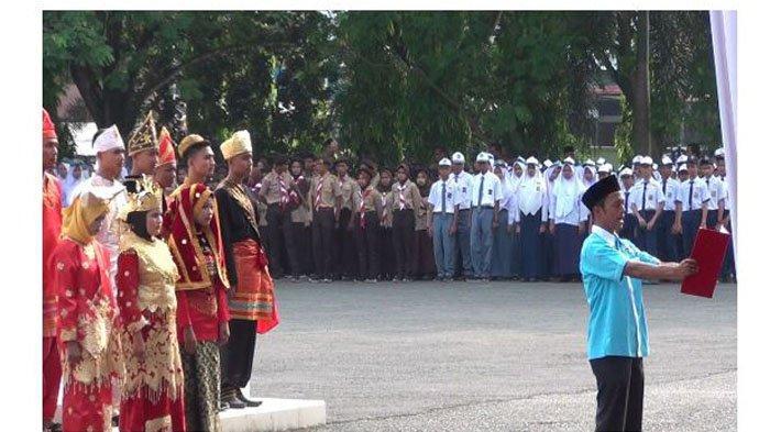Kepala Staf Kepresidenan RI Hadiri LangsungPeringatan Hari Sumpah Pemudadi Kabupaten Dharmasraya