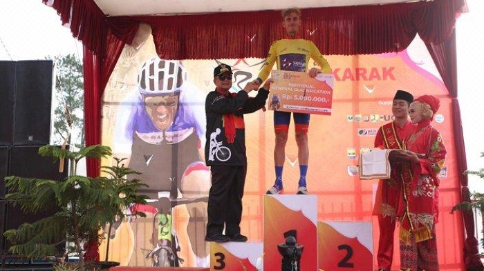 Taklukkan 'Rute Pembantaian' Tour de Singkarak (TdS) 2019, Pembalap Filipina Finis Terdepan