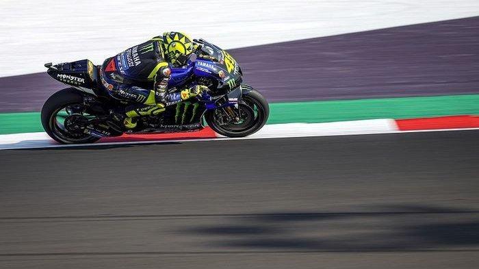 HASIL MotoGP Emilia Romagna 2020, Valentino Rossi Crash Saksikan Sisa Balapan di Link Live Streaming
