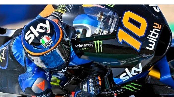 Luca Marini Adik Valentino Rossi Finish Pertama Moto2 Spanyol, Pembalab Indonesia Andi Gilang?