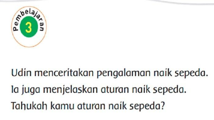 Jawaban Tema 8 Kelas 2 Halaman 123, Apa Isi Teks di Atas?